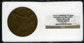 Expositions and Fairs, 1915 Panama-Pacific Exposition Award Medal MS64 Brown NGC. Bronze, 70.5mm. San Francisco, CA....