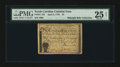 Colonial Notes:North Carolina, North Carolina April 2, 1776 $4 Sheaf of Wheat PMG Very Fine 25 Net....