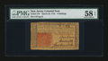 Colonial Notes:New Jersey, New Jersey March 25, 1776 6s PMG Choice About Unc 58 EPQ....
