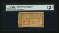 Colonial Notes:New Jersey, New Jersey 1786 3s PMG Fine 12 Net....