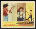 "Movie Posters:Adventure, The Adventures of Tom Sawyer (NTA, R-1958). Lobby Card Set of 4(11"" X 14""). Adventure.. ... (Total: 4 Items)"