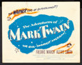 "Movie Posters:Adventure, The Adventures of Mark Twain (Warner Brothers, 1944). Lobby CardSet of 8 (11"" X 14""). Adventure.. ... (Total: 8 Items)"
