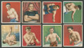 Boxing Cards:General, 1910 T218 Hassan/Mecca Boxers Collection (61). ...