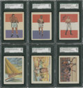 Boxing Cards:General, 1956 Topps Adventure Collection (19) With High Grade Boxers...