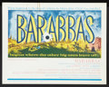 "Movie Posters:Adventure, Barabbas (Columbia, 1962). Lobby Card Set of 8 (11"" X 14"").Adventure.. ... (Total: 8 Items)"