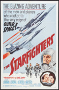"Movie Posters:War, The Starfighters (Parade Releasing, 1964). One Sheet (27"" X 41"").War.. ..."