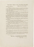 "Military & Patriotic:Civil War, Confederate Documents: General Orders No. 16, Issued by Major General J. Bankhead Magruder. One page, printed, 5¾"" x 8"" (irr..."