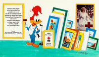 WALTER LANTZ (American, 1899-1994) Woody Woodpecker Presents the Hawaii State Chapter of the American Red Cross