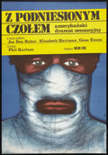 "Movie Posters:Crime, Walking Tall (CRF, 1976). Polish One Sheet (22.75"" X 33""). Crime....."