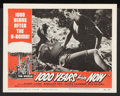 "1000 Years From Now/Invasion USA Combo (American Picture Company, R-1956). Lobby Cards (3) (11"" X 14""). Scienc..."