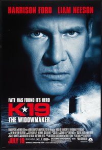 """K-19: The Widowmaker (Paramount, 2002). One Sheets (2) (27"""" X 40"""") DS Advances Styles A and B-. Thriller..."""