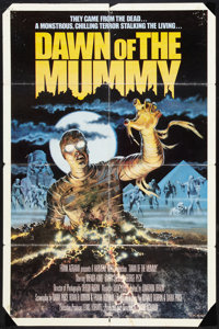 "Dawn of the Mummy Lot (Harmony Gold, 1981). One Sheet (27"" X 41"") and Argentinean One Sheet (29"" X 42&quo..."