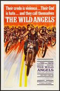 "Movie Posters:Action, The Wild Angels (American International, 1966). One Sheet (27"" X41""). Action.. ..."