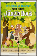 """Movie Posters:Animated, The Jungle Book (Buena Vista, 1967). One Sheet (27"""" X 41"""").Animated.. ..."""
