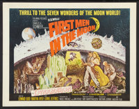 "First Men in the Moon Lot (Columbia, 1964). Half Sheet (22"" X 28"") and One Sheet (27"" X 41""). Scienc..."