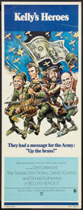 "Movie Posters:War, Kelly's Heroes (MGM, 1970). Insert (14"" X 36""). War.. ..."