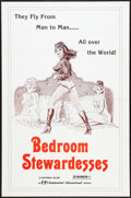 """Movie Posters:Sexploitation, Bedroom Stewardesses (Independent International Pictures, 1968).One Sheet (27"""" X 41""""). Sexploitation.. ..."""