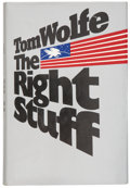 Books:First Editions, Tom Wolfe. The Right Stuff. New York: Farrar Straus Giroux,[1979].. First edition. Signed by Tom Wolfe on tit...