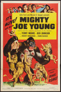 "Movie Posters:Adventure, Mighty Joe Young (RKO, R-1953). One Sheet (27"" X 41""). Adventure....."