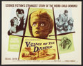 "Movie Posters:Science Fiction, Village of the Damned (MGM, 1960). Half Sheet (22"" X 28""). ScienceFiction.. ..."