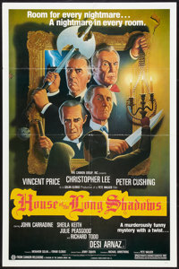 "House of the Long Shadows (Cannon, 1982). One Sheet (27"" X 41""). Horror"