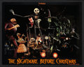 """Movie Posters:Fantasy, The Nightmare Before Christmas (Touchstone, 1993). Lobby Card Set of 8 (11"""" X 14""""). Fantasy.. ... (Total: 8 Items)"""