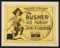 """Movie Posters:Comedy, The Busher (Educational, 1923). Title Lobby Card and Lobby Cards (2) (11"""" X 14""""). Comedy.. ... (Total: 3 Items)"""
