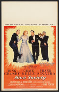 """Movie Posters:Musical, High Society (MGM, 1956). Window Card (14"""" X 22""""). Musical.. ..."""