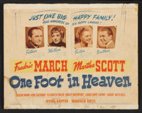 """One Foot in Heaven (Warner Brothers, 1941). Lobby Card Set of 8 (11"""" X 14""""). Drama. ... (Total: 8 Items)"""