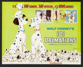 "Movie Posters:Animated, 101 Dalmatians (Buena Vista, R-1969). Title Lobby Card and LobbyCards (5) (11"" X 14""). Animated.. ... (Total: 6 Items)"