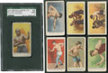 """Boxing Cards:General, 1910 """"E"""" Amer. and Phila. Caramel Boxing Collection (32). ..."""