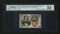 Fractional Currency:Fifth Issue, Courtesy Autographed Fr. 1265 10¢ Fifth Issue PMG AboutUncirculated 55....