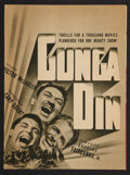 "Movie Posters:Action, Gunga Din (RKO, 1939). Herald (11.5"" X 17.25""). Action.. ..."