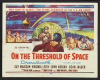 """On the Threshold of Space (20th Century Fox, 1956). Lobby Card Set of 8 (11"""" X 14""""). Drama. ... (Total: 8 Item..."""