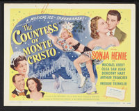"""The Countess of Monte Cristo (Universal International, 1948). Lobby Card Set of 8 (11"""" X 14""""). Comedy. ... (To..."""