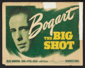 "Movie Posters:Crime, The Big Shot (Warner Brothers, 1942). Title Lobby Card and LobbyCards (3) (11"" X 14""). Crime.. ... (Total: 4 Items)"