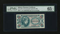 Military Payment Certificates:Series 651, Series 651 25¢ PMG Gem Uncirculated 65 EPQ....