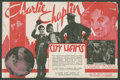 "Movie Posters:Comedy, City Lights (United Artists, 1931). Herald (6"" X 9"", Folded Out).Comedy.. ..."