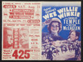 "Movie Posters:Adventure, Wee Willie Winkie Lot (20th Century Fox, 1937). Heralds (2) (8.75""X 11.75"" and 9"" X 12"", Folded Out). Adventure.. ... (Total: 2Items)"