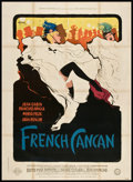 "Movie Posters:Musical, French Cancan (Gaumont, 1955). French Grande (47"" X 63""). Musical....."