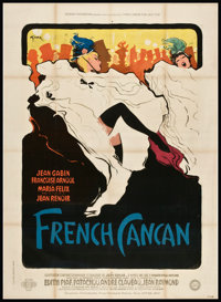 """French Cancan (Gaumont, 1955). French Grande (47"""" X 63""""). Musical"""