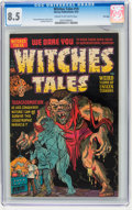Golden Age (1938-1955):Horror, Witches Tales #14 File Copy (Harvey, 1952) CGC VF+ 8.5 Cream tooff-white pages....