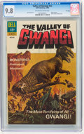 Silver Age (1956-1969):Horror, Movie Classics: Valley of Gwangi - File Copy (Dell, 1969) CGC NM/MT9.8 Off-white to white pages....