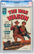 Silver Age (1956-1969):Western, Movie Classics: War Wagon - File Copy (Dell, 1967) CGC NM+ 9.6Off-white to white pages....