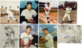 Autographs:Photos, New York Yankees Signed Photograph Lot of 8.... (Total: 8 items)
