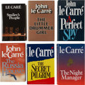 Books:First Editions, John le Carré. Six Signed Books, including: Smiley's People.[and:] The Little Drummer Girl. [and:] A... (Total: 6Items)