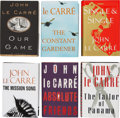 Books:First Editions, John le Carré. Six Signed Books, including: Our Game. [and:]The Tailor of Panama. [and:] Single & Singl...(Total: 6 Items)