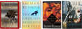Books:First Editions, Salman Rushdie. Four Signed Books, including: The SatanicVerses. [and:] The Moor's Last Sigh. [and:] Th...(Total: 4 Items)