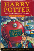 Books:First Editions, J. K. Rowling. Harry Potter and the Philosopher's Stone.[London]: Bloomsbury, [1997]. First edition, fourth printin...