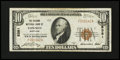 National Bank Notes:Maryland, Towson, MD - $10 1929 Ty. 1 The Second NB Ch. # 8381. ...
